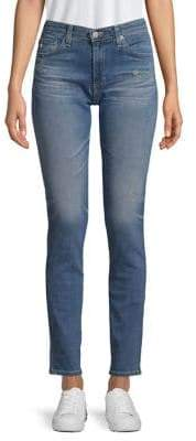 AG Jeans Distressed Tailored-Fit Jeans