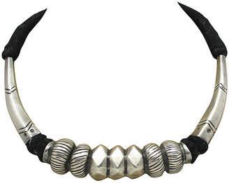 One Kings Lane Vintage Tibetan Silvertone Necklace