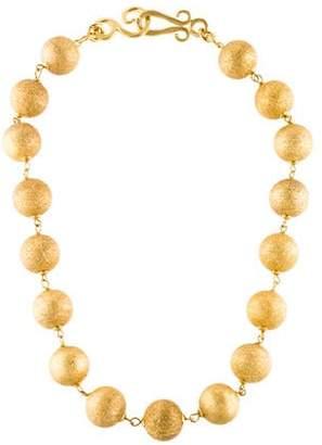Stephanie Kantis Textured Sphere Necklace