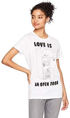 Goodie Two Sleeves Junior's Whatever Co. Love Is an Open Door Tee
