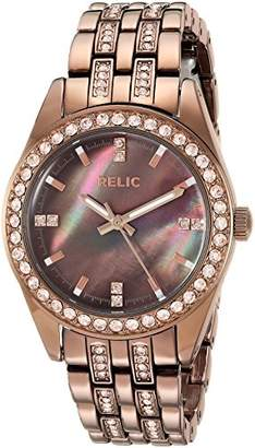 Relic Women's Iva Quartz Stainless Steel and Alloy Dress Watch
