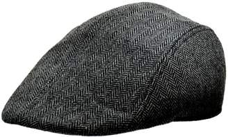 London Fog Herringbone Moulded Ivy Cap