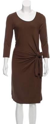 Max Studio Knot Detail Midi Dress