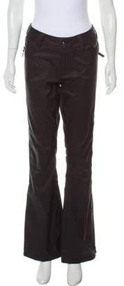 Burton Mid-Rise Wide-Leg Pants