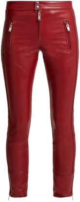 Etoile Isabel Marant Zappery faux-leather trousers