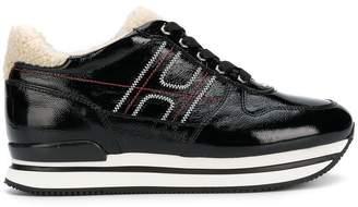 Hogan platform runner sneakers