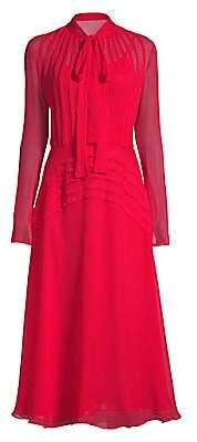 Jason Wu Collection Women's Crinkle Silk Chiffon Day Dress