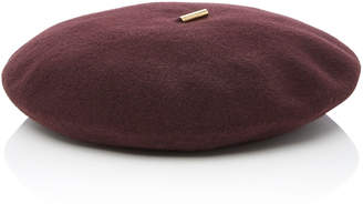 Janessa Leone Renee Knitted Wool Beret