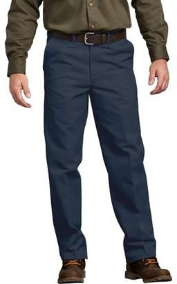 Dickies Genuine Men's Flat Front Comfort Waist Pants