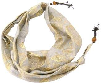 Isabel Marant Gold Silk Scarves