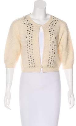 Marc by Marc Jacobs Wool Embellished Cardigan