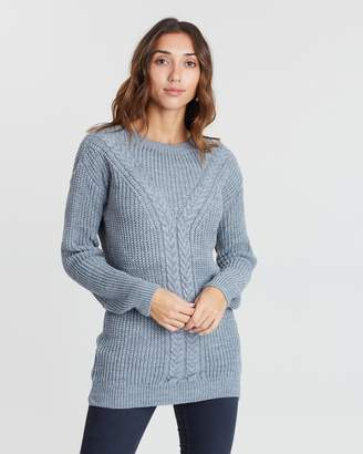 Dorothy Perkins Cable Tunic Jumper