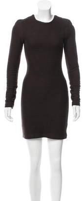 Kimberly Ovitz Rib Knit Mini Dress