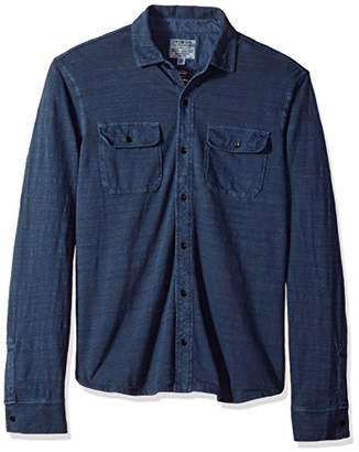 Lucky Brand Men's Jersey Work Shirt
