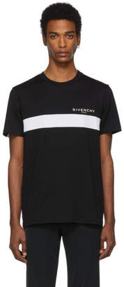Givenchy Black Cut-Out T-Shirt