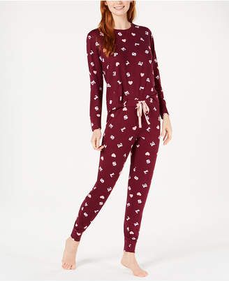 Jenni Soft Printed Knit Pajama Set