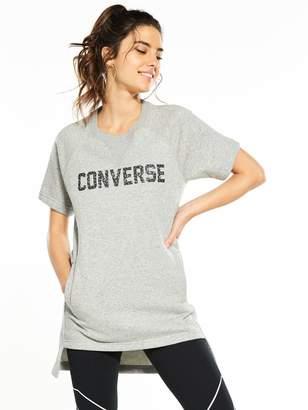 Converse Short Sleeve Sweatshirt Dress