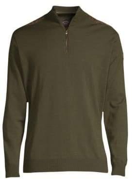 Paul & Shark Quarter-Zip Wool Sweater