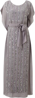 Jacques Vert Sequin Column Maxi Dress