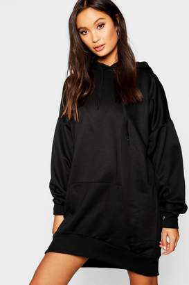 boohoo Oversized Pocket Sweatshirt Dress
