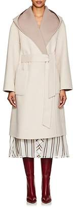 THE LOOM Women's Reversible Brushed Wool Belted Coat