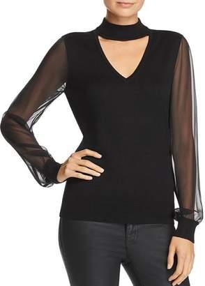 Ramy Brook Ashley Choker Sweater
