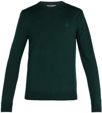 Dolce & Gabbana Virgin-wool crew-neck sweater