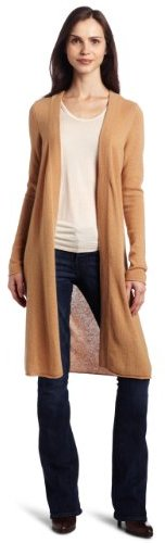 Sofie Women's 100% Cashmere Long-Sleeve Open-Front Cardigan