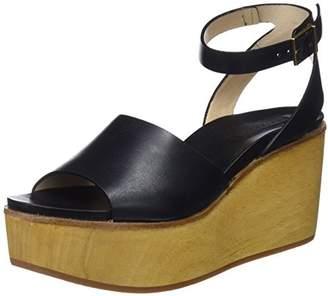 Neosens Women's S507 Restored Skin Ebony/Breval Platform Sandals