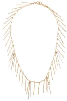 Isabel Marant Asymmetrical Chain And Bar Pendant Necklace - Womens - Gold