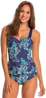 Athena Chantele Balinese Bloom Underwire Bandini Top (D Cup) 8146224 $54.60 thestylecure.com