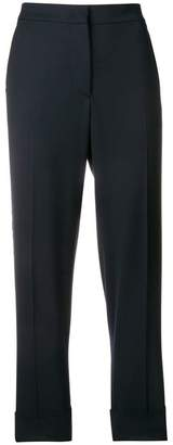 Pt01 side stripe cropped trousers