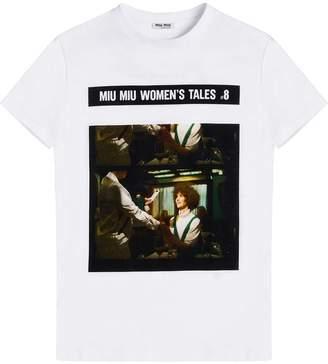 Miu Miu Tales jersey T-shirt