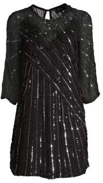 Parker Black Alejandra Sequin Shift Dress