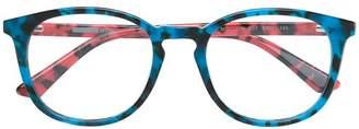 McQ Eyewear oversized tortoise shell frames