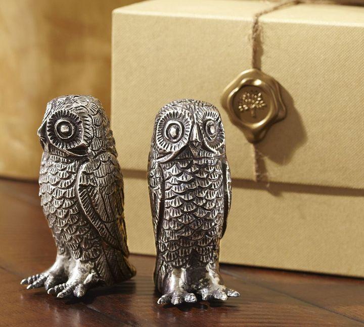 Pottery Barn Owl Salt & Pepper Shakers