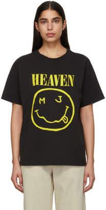 Marc Jacobs Black Redux Grunge Bootleg T-Shirt