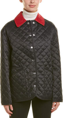 Burberry Dranefield Diamond Quilted Barn Jacket