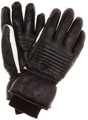 Fusalp Aksel leather ski gloves