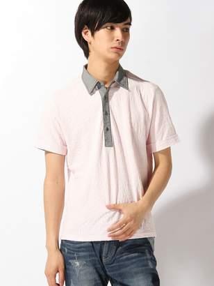 Men's Bigi (メンズ ビギ) - MEN'S BIGI きれいめ半袖ポロ / クールビスに最適! メンズ ビギ カットソー