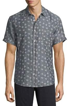 Billy Reid Kirby Short-Sleeve Sport Shirt