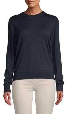 Zadig & Voltaire Emma Cutout-Back Merino Wool Sweater