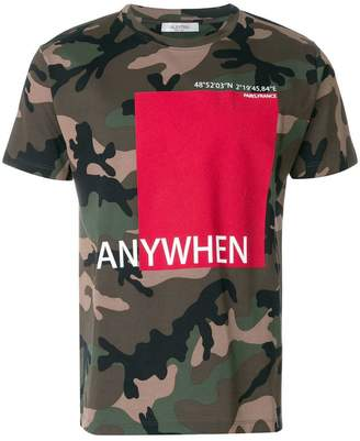 Valentino Anywhen printed T-shirt
