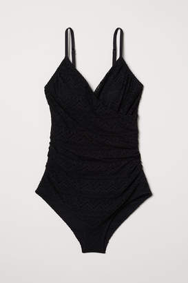 H&M Lace shaping swimsuit