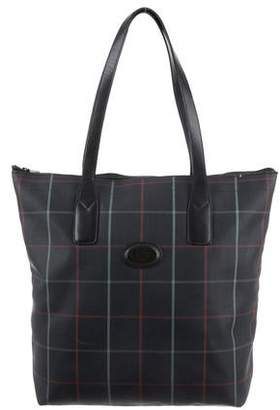 Burberry Vintage Check Coated Canvas Tote