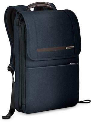 Briggs & Riley Kinzie Street Flapover Expandable Backpack $269 thestylecure.com
