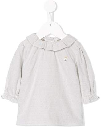 Familiar frill trim top