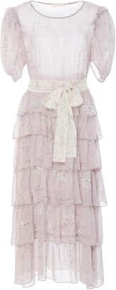 LoveShackFancy Roxanne Tiered Ruffle Maxi Dress
