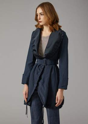 Giorgio Armani Duster Coat With Belt