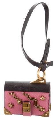 Prada 2016 Cahier Trick Notebook Keychain
